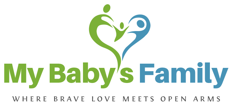 My Baby's Family Logo Color Vertical 2